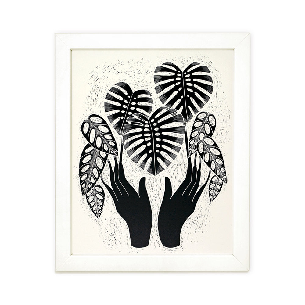 Monstera Magic - Art Print