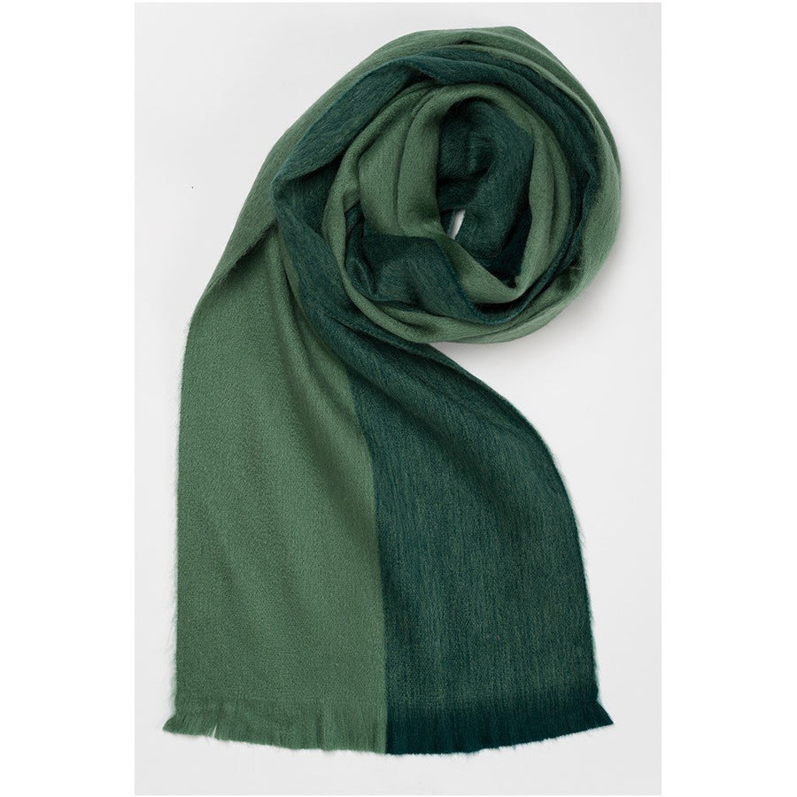 Alpaca Scarf - Hunter Green |  POKOLOKO