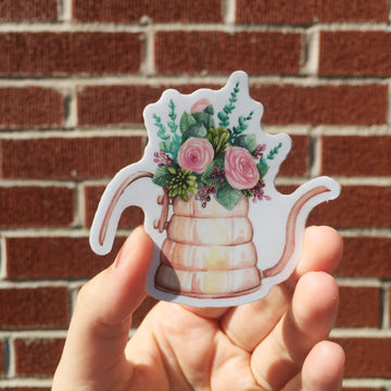Floral Watering Can | Sticker