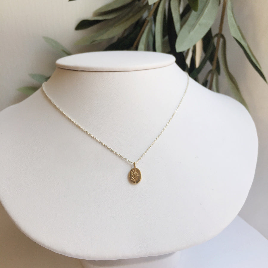 Olive Branch Necklace | CLAUS JEWELRY