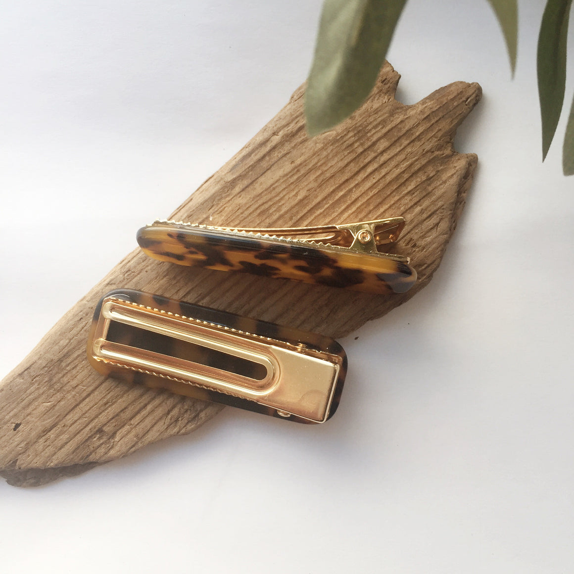 Thick Hair Clips - Tortoise