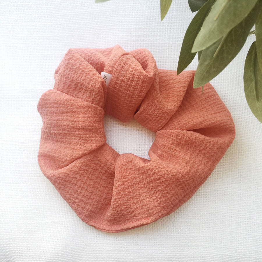Seersucker Scrunchie (various colours)