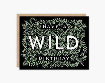 Wild Birthday  - Greeting Cards