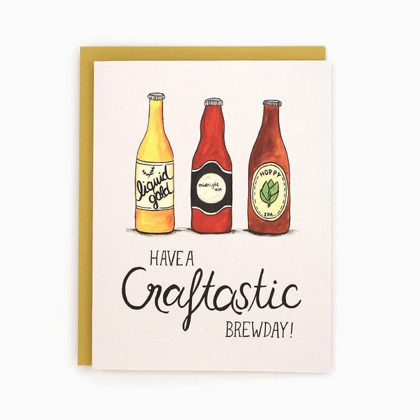 Craftastic Birthday - Greeting Card