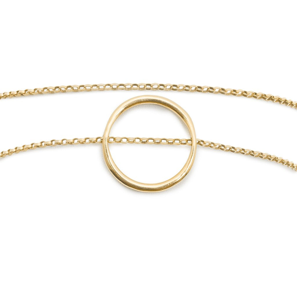 saatchi white circle diamond gold jewelry halo products k bracelet