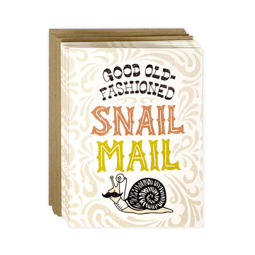 Good Old-Fashioned Snail Mail - Greeting Card Boxed Set