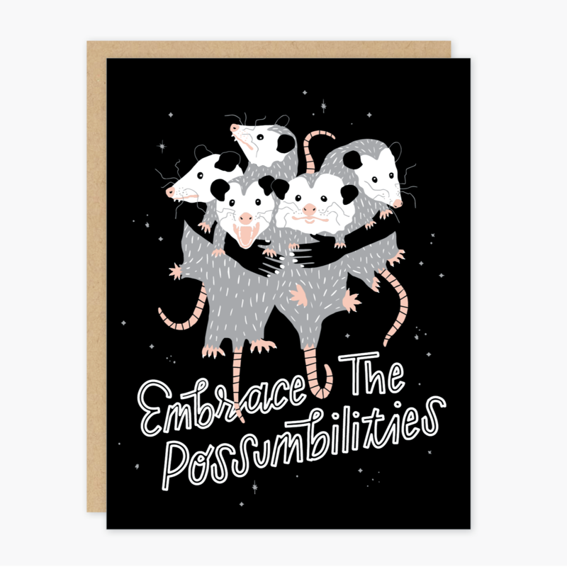 Possumbilities - Greeting Card