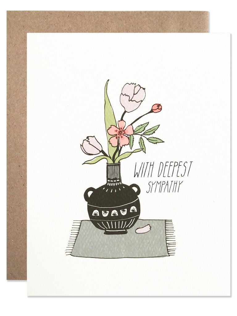 Deepest Sympathy - Greeting Card