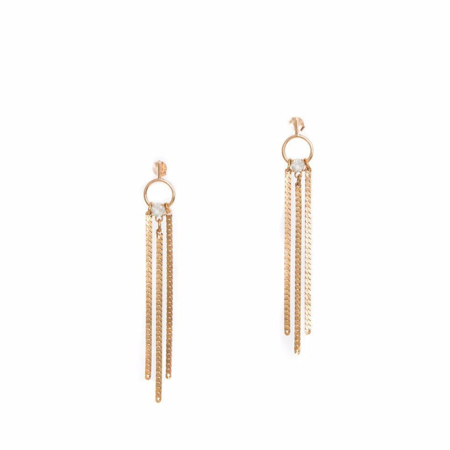 Ellipse Earrings | HAILEY GERRITS | JV Studios Boutique
