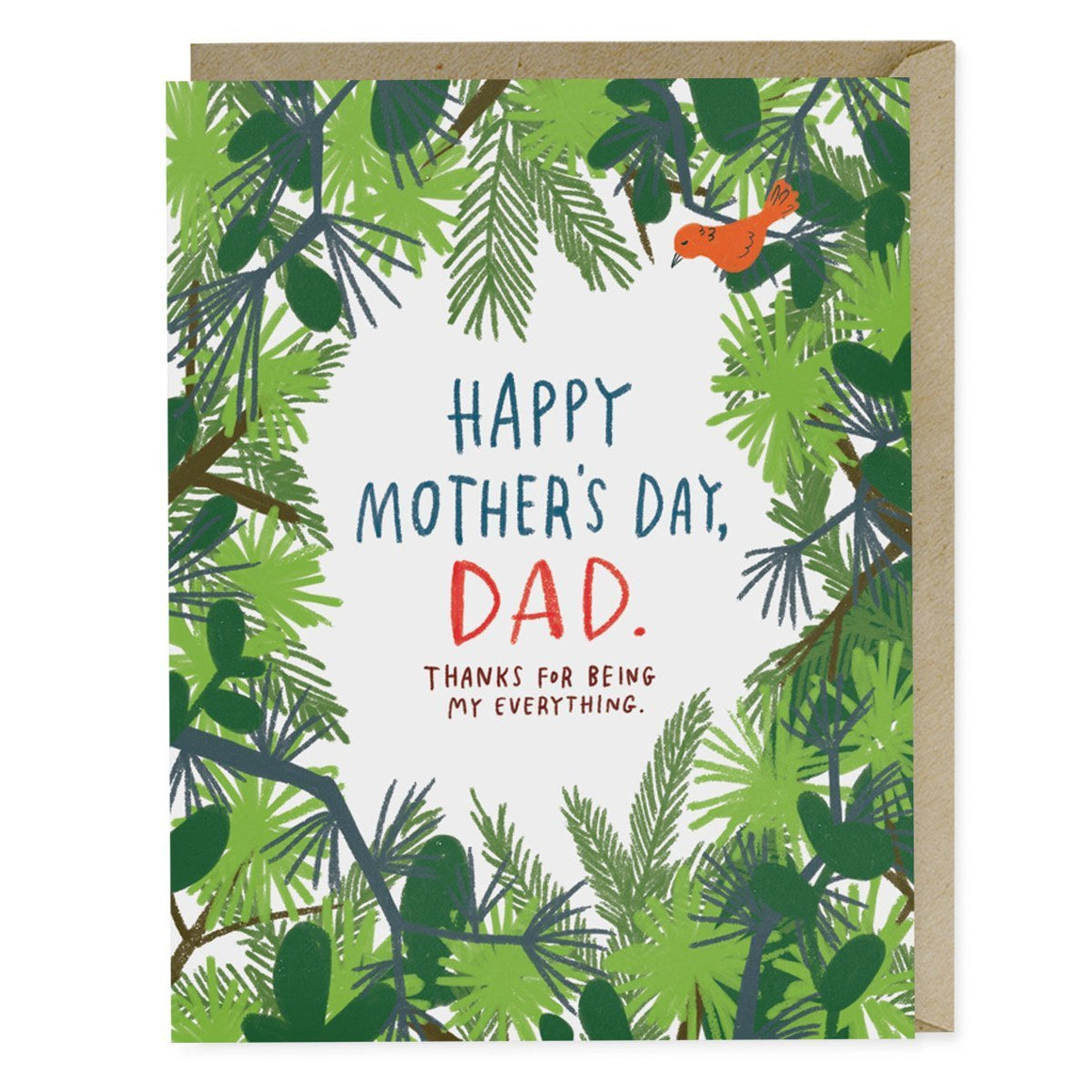Mother's Day Dad - Greeting Card