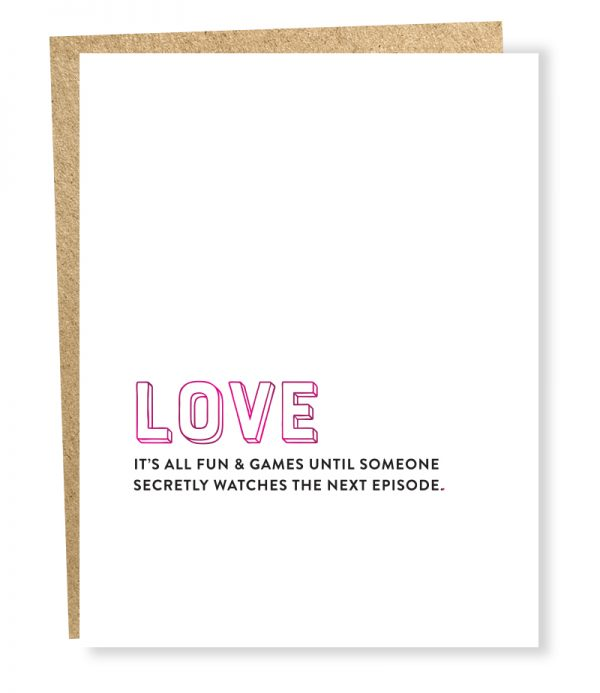 Next Episode - Greeting Card