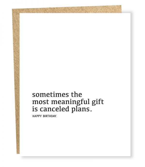 Meaningful Gift - Greeting Card