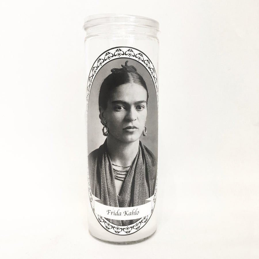 Frida Kahlo Feminist Votive Candle