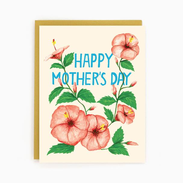 Mom Hibiscus - Greeting Card