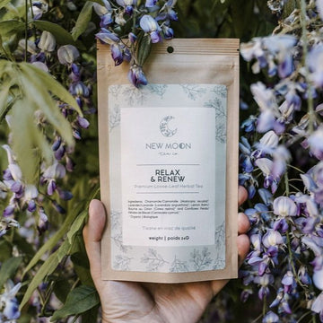Relax & Renew | NEW MOON TEA CO