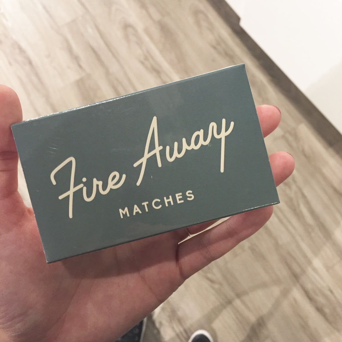 Safety Matches: Fire Away