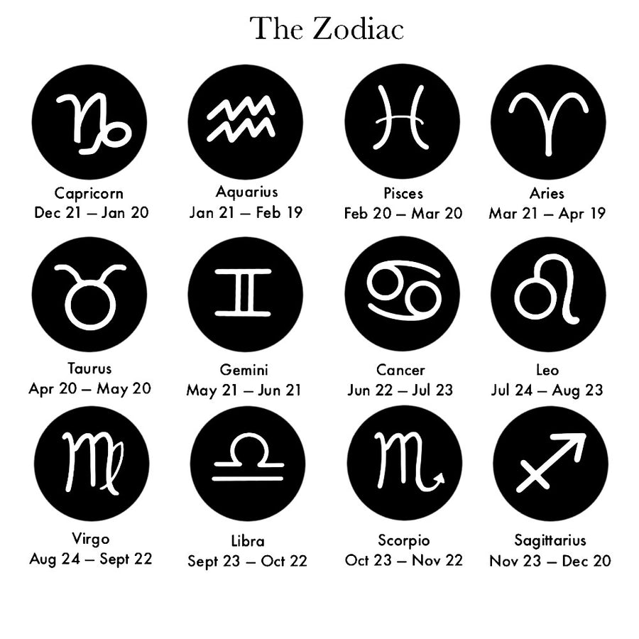 Zodiac Tag Necklace | JASMINE VIRANI