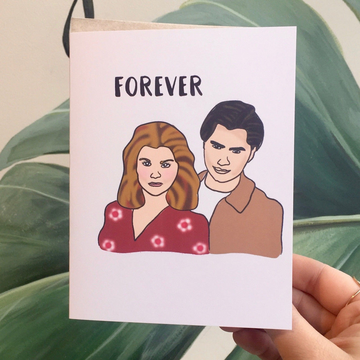 Forever - Greeting Card