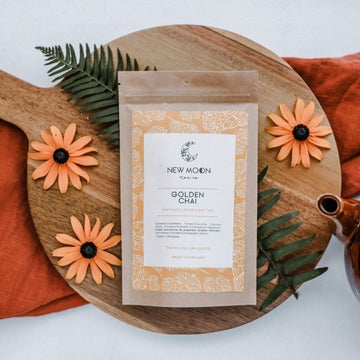 Golden Chai Tea | NEW MOON TEA CO