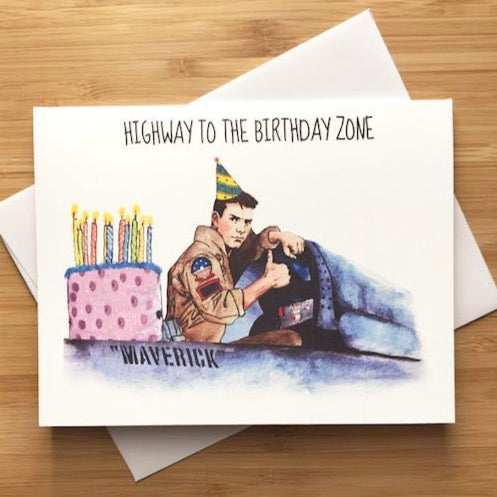Top Gun - Greeting Card