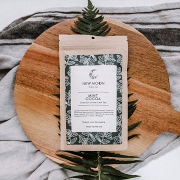 Mint Cocoa Tea | NEW MOON TEA CO