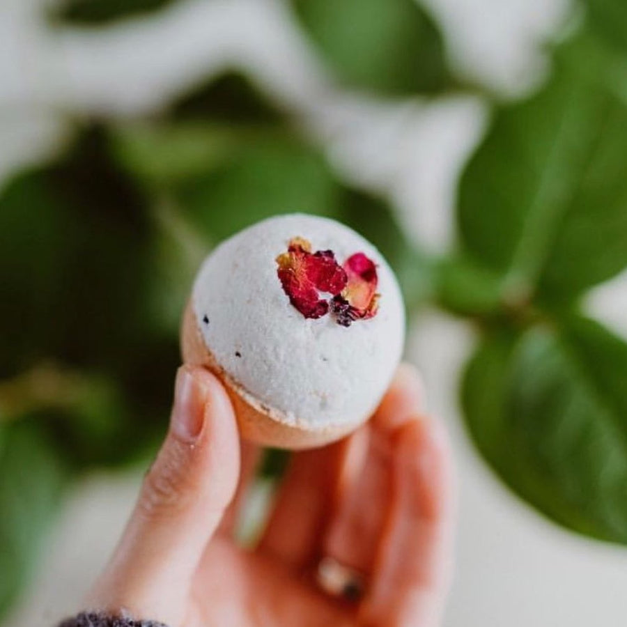 Rose & Moroccan Red Clay Bath Bomb