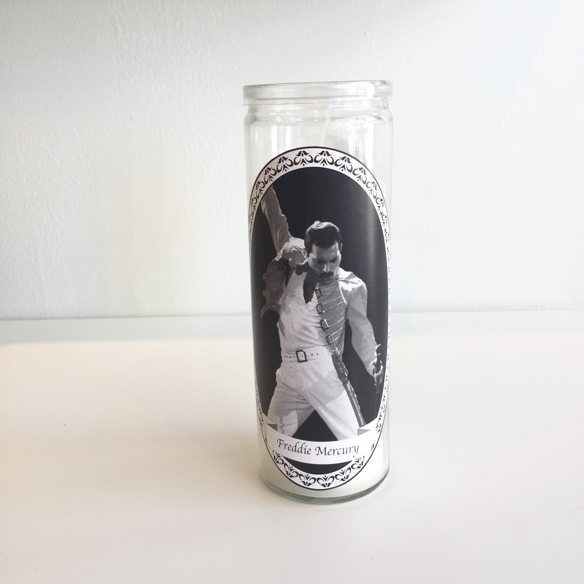 Freddie Mercury Votive Candle