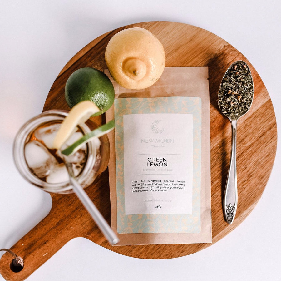 Green Lemon | NEW MOON TEA CO