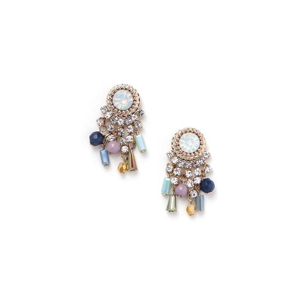 Iris Chandelier Earrings