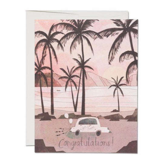 Getaway Car - Greeting Card
