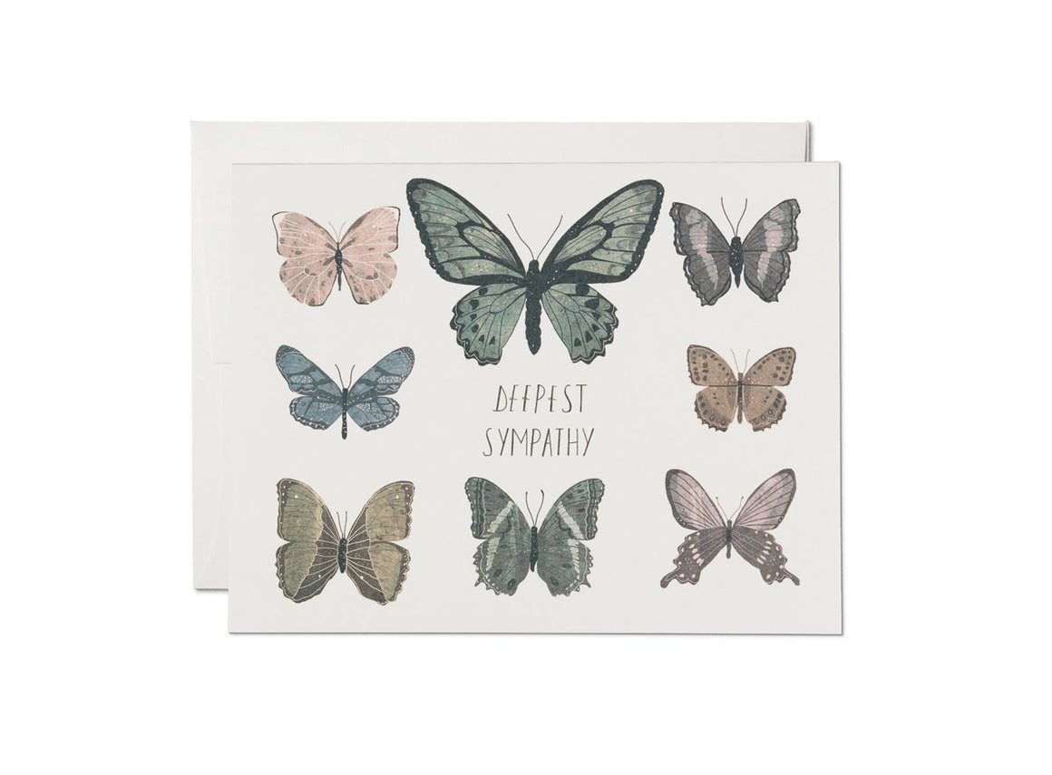 Sympathy Butterflies Card