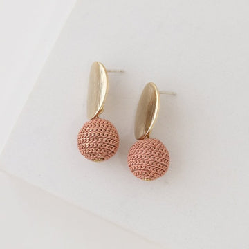 Amos Drop Earrings - Pink | LOVER'S TEMPO | JV Studios & Boutique