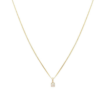 14K Element Necklace - Opal | LEAH ALEXANDRA | JV Studios & Boutique