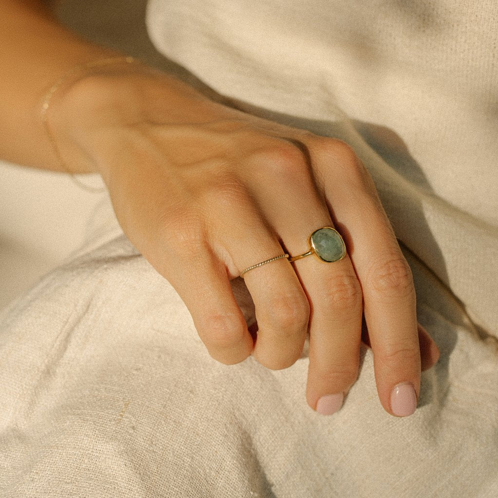Aura Ring - Aquamarine