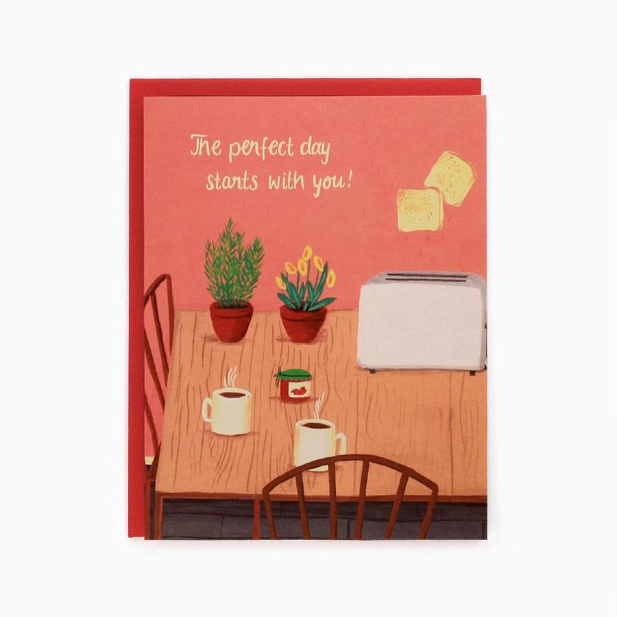 Perfect Day - Greeting Card