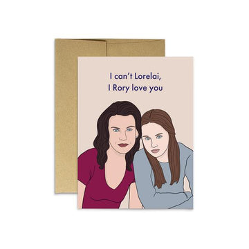 Gilmore Mom - Greeting Card