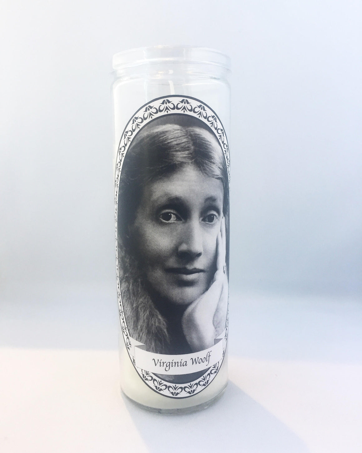 Virginia Woolf Feminist Votive Candle