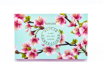 Matcha - Postcard Chocolate Bar | ALICJA CONFECTIONS
