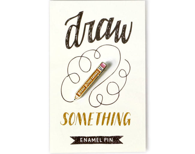 Draw Something - Enamel Pin