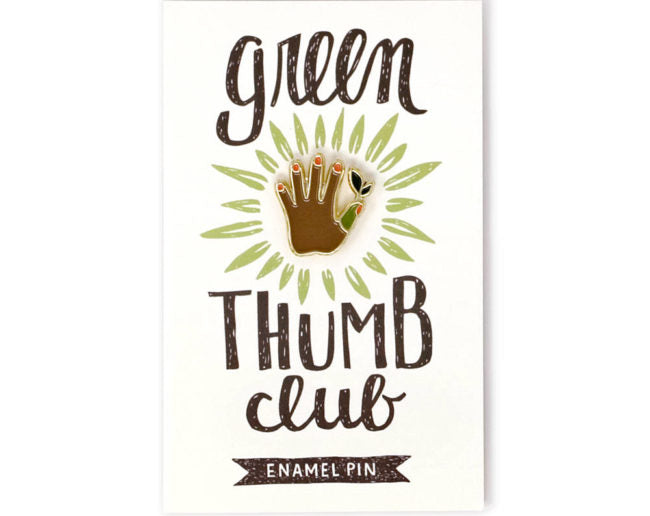 Green Thumb - Enamel Pin