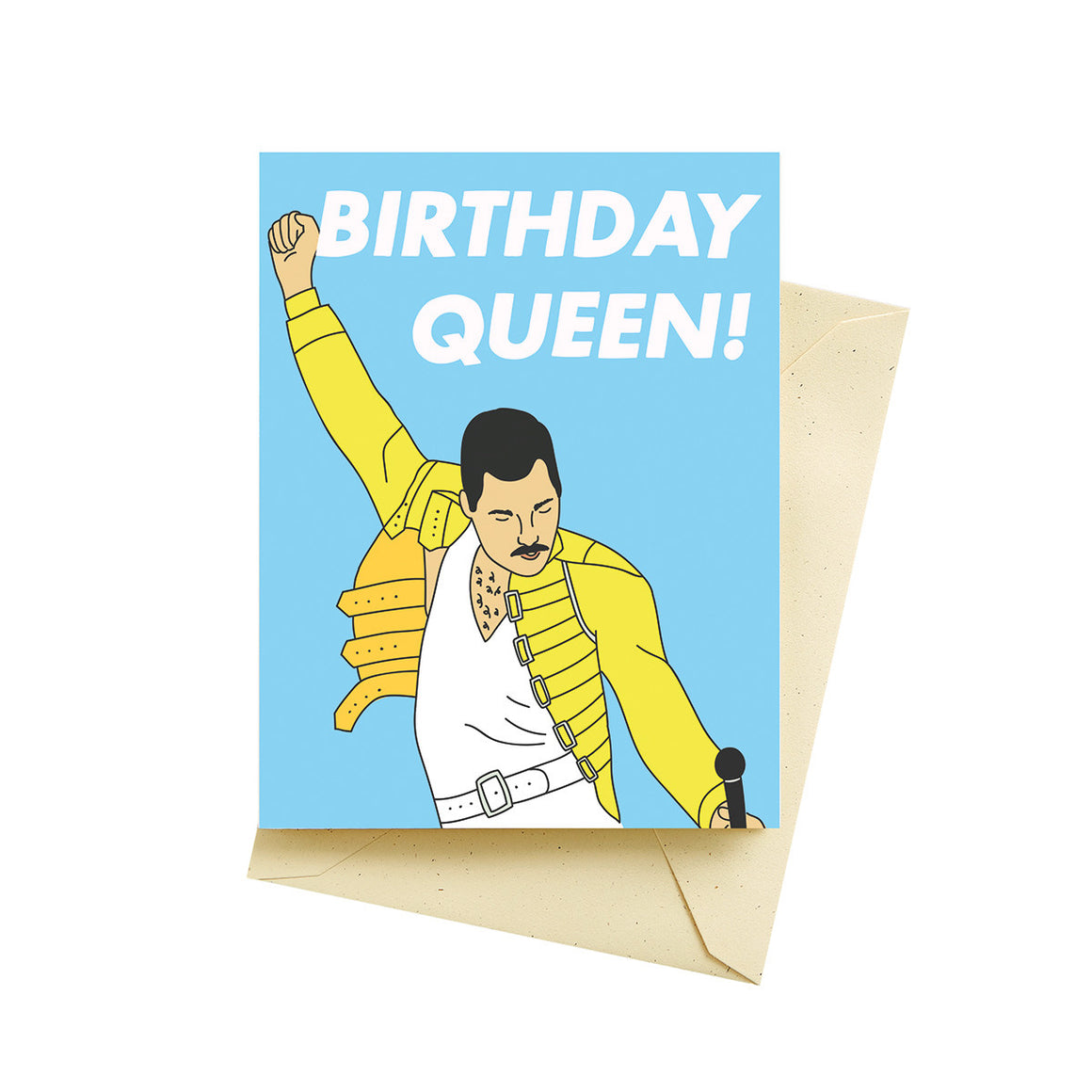 Birthday Queen - Greeting Card