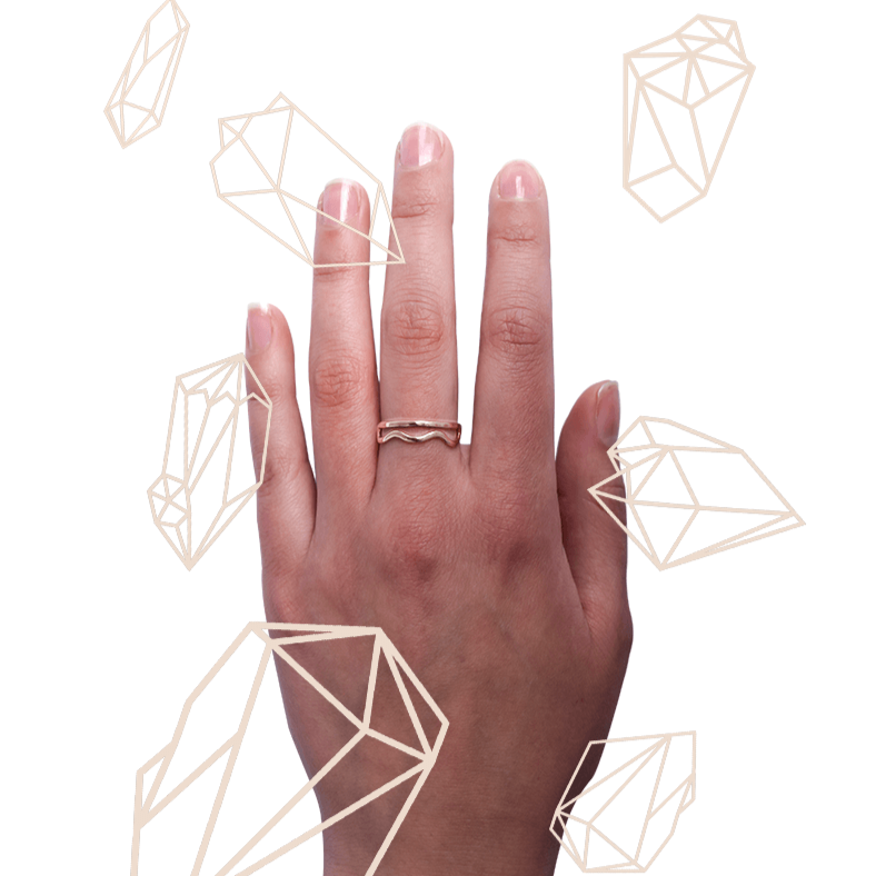 Cloud Stacking Ring | LISSA BOWIE