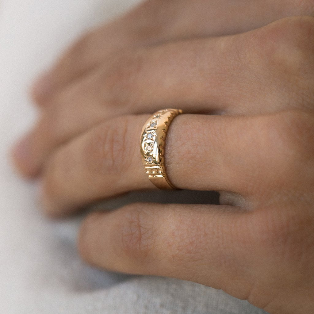 Stellar Band Ring  | LEAH ALEXANDRA