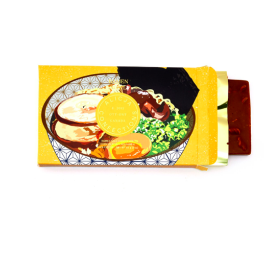 Ramen Bowl - Postcard Chocolate Bar | ALICJA CONFECTIONS