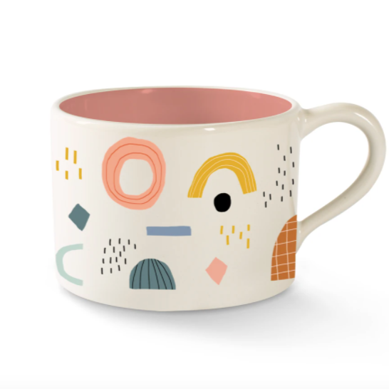 Shapes Morning Mug
