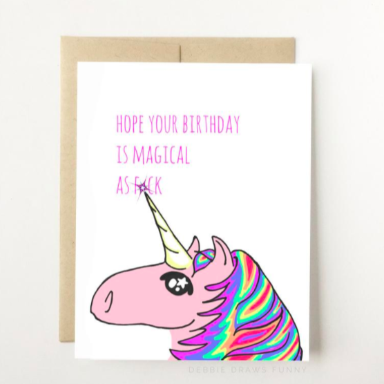 Magical Birthday - Greeting Card