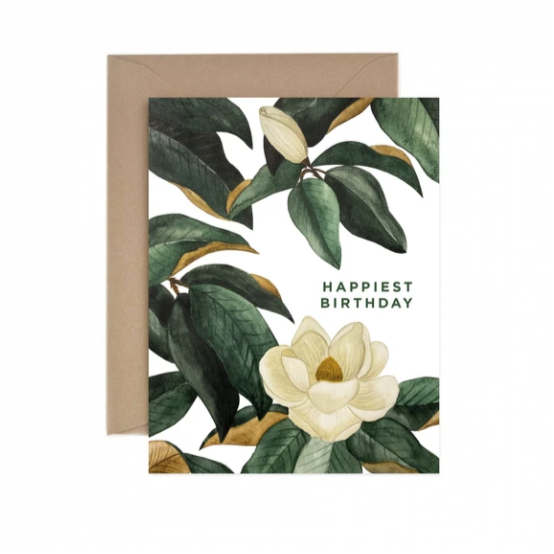 Magnolias Happiest Birthday  - Greeting Card