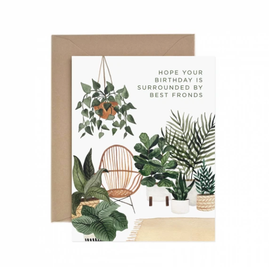 Best Fronds Birthday - Greeting Card