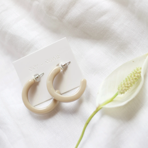 Thick Hoops| NAT + NOOR