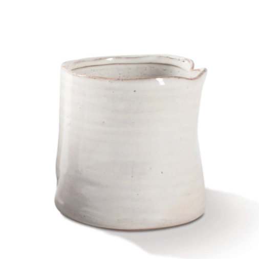 Large Pinched Vessel - White